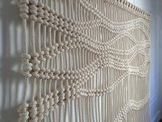 Thick Rope Macrame - Custom Rope Wall Hanging