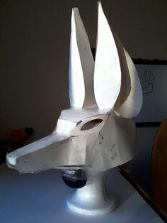 Constructing Anubis Mask