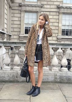 coat with shorts