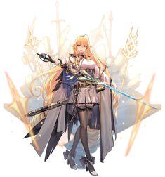 Female Character Design, Character Design References, Character Design Inspiration, Character Art, Fantasy Female Warrior, Anime Warrior, Female Knight, Cool Anime Girl, Anime Art Girl