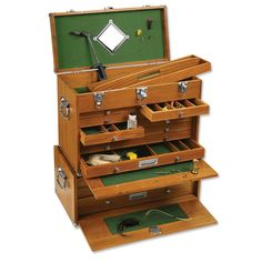 Merveilleux Gerstner American Red Oak Chest Because His Fly Tying Tools And Materials  Deserve More Than Just Ordinary Storage Space