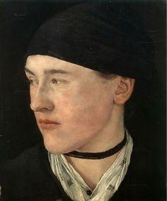 Wilhelm Leibl, Young woman from Dachau on ArtStack #wilhelm-leibl #art