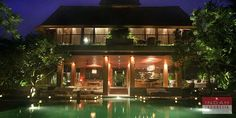 Red Door Villa, the mesmerizing holiday villa in Canggu, Bali. Visit http://indahindonesia.com/red-door-villa/, for more