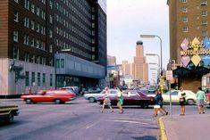 Street scene Minneapolis, 1969