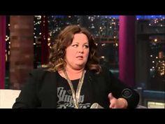 Melissa McCarthy on David Letterman   24 June, 2013 - http://hagsharlotsheroines.com/?p=85439