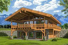 Log Home Floor Plans, Cabin House Plans, Mountain House Plans, Mountain Homes, Dream House Plans, Modern Floor Plans, Cabin Kits, Timber Frame Homes, Timber Frame Home Plans