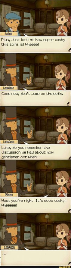 Professor Layton and the Unruly Children. Layton Brothers Mystery Room, Unruly Children, Fandom Jokes, Pandora Jewelry, Jewelry Bracelets, Pandoras Box, Best Series, Phoenix Wright, True Gentleman