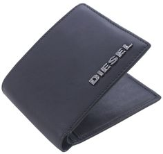 Diesel Wallet - Black Small Neela Wallet #Mens #Wallet