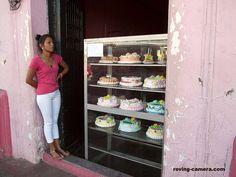 Shop Girl at Cake Shop in Leon, Nicaragua, 2015