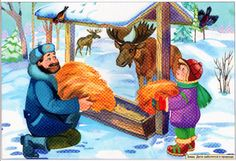 Tél. Történetek a képekről Christmas Animals, Camel, Diy And Crafts, Watercolor, Cartoon, Hobbit, Education, Winter, Painting