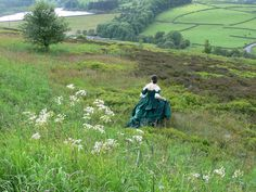 The Haworth moors of North Yorkshire (Brontë Country)
