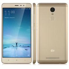 Xiaomi Redmi Note 3 3Gb/32 Gb Dorado $56