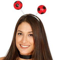 Serre-tête boules Coccinelle #bijouxdéguisements #accessoiresdéguisements #accessoiresphotocall