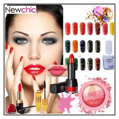 """Newchic Beauty 1"" by aazraa ❤ liked on Polyvore featuring beauty"