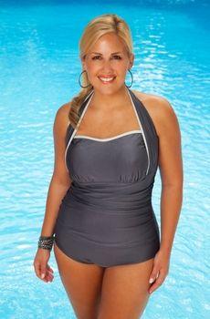 daphne swimdress black & white | retro style, swimsuits and twins