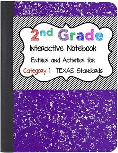 Fall in love with the Interactive Notebook students across Texas are enjoying. This Interactive Notebook contains journal entries, foldables, hand-on activities, and teacher notes.   Your positive feedback is greatly appreciated :).  I hope you enjoy these activities.