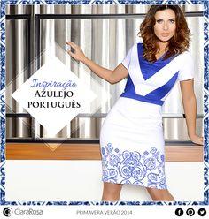 Super charmosas, as estampas inspiradas nos azulejos portugueses prometem ser hit do verão. Veja um dos nossos lançamentos: