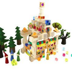 19-10048_Lichterhaus_01_web Pediatric Ot, Triangle, Seasons Kindergarten, Felt Tree, Group, Felting