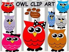 Owl Clip Art- Freebie!