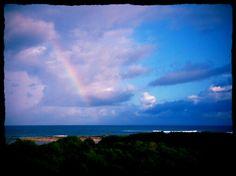 Rainbow over the Indian ocean #westernaustralia #indianocean #rainbow