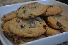Nestle Toll House Chocolate Chip Cookies -- A staple on our Christmas table. :P