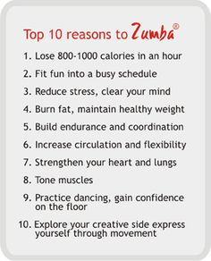 Why take Zumba® fitness classes? Haven't tried it yet!