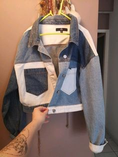 Cute Casual Outfits, Retro Outfits, Stylish Outfits, Fall Outfits, Denim Fashion, Look Fashion, Fashion Outfits, Fashion Design, Custom Clothes