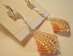 Tutorial orecchini 3D Piccoli pendenti perline