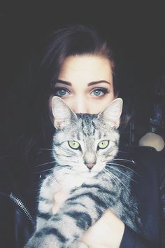 Cats purr when they're happy, you know, just give your cat some chin scratches, and hear that purr engine start.