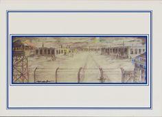 Festményem a Basírijai lágerről
