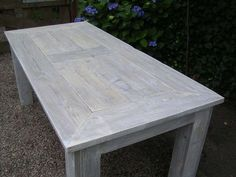 White wash meubelen http://www.fredsbouwtekeningen.nl/blog/klustips/whitewash/