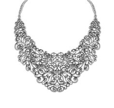 Flower Vintage Crystal BOHO Women Chain Pendant Statement Collar Bib Necklace #Unbranded #Bib