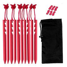 Titan Alloy Tent Nails 20cm Long Outdoor Camping Tent Accessories Stakes Pegs