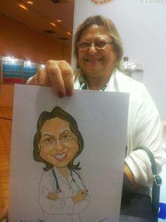 Evento Congresso de Medicina - Ginecologia para a Biolab 2º ano http://www.souzaarte.com/#!untitled/cnfd/tag/caricatura