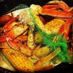 Ragin' Cajun Seafood Steam Pot at Joe's Crab Shack - Florida