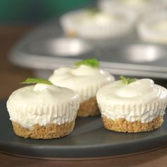 These no-bake Mini Mojito Cheesecakes are a no-brainer! Theres no excuse not to try it.