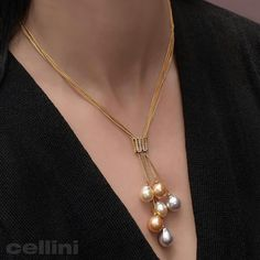 Absolutely glowing tonight with these fabulous multi-color Gold Jewelry Simple, Stylish Jewelry, Silver Jewelry, Fashion Jewelry, Silver Ring, Pearl Jewelry, Jewelery, Jewelry Necklaces, Women's Fashion