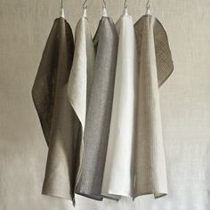 FOG LINEN KITCHEN TOWEL (Designed by Yumiko Sekine of Fog Linen in Tokyo and produced in Lithuania)