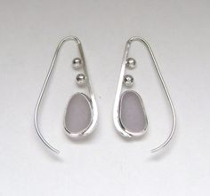 Sea Glass Jewelry  Sterling Lavender Sea Glass by SignetureLine, $75.00