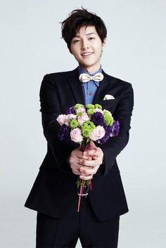 song joong ki with flower - Google keresés
