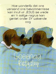 Good Night Blessings, Good Night Wishes, Good Night Quotes, Goeie Nag, Afrikaans Quotes, Sleep Tight, Qoutes, Words, Good Evening Wishes