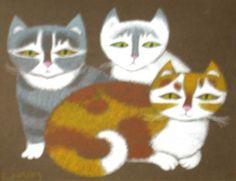 LILIAN HÄRM Kolm kassi 2006