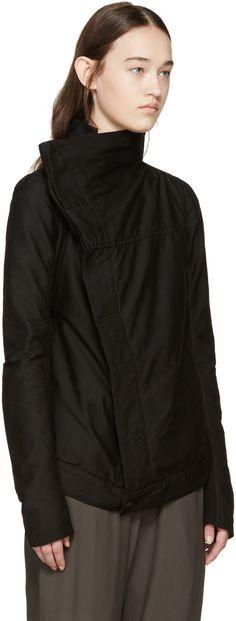 Rick Owens Drkshdw - Black Exploder Biker Jacket