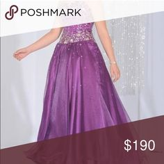 "Light Purple Corset-Back Prom Dress EUC, only worn once. Picture shows true color. True to size. Please check out my ""About My Closet"" listing before purchasing, as it contains important information about my items. Feel free to ask any questions you have! Prices are negotiable 😊 Night Moves Dresses"