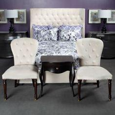 Marisol Bed/Z Gallerie Home Decor Bedroom, Bedroom Furniture, Master Bedroom, Bedroom Ideas, Bedroom Inspiration, Master Suite, Furniture Ideas, Baroque Decor, Modern Baroque