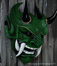 Samurai Assassin Demon Oni BB Gun Airsoft Mask, Halloween Costume Cosplay Ninja Warrior Devil Evil H / Victory Pro Photo Hannya Samurai, Samurai Art, Maske Halloween, Halloween Costumes, Halloween Kostüm, Mascara Oni, Cosplay, Hannya Maske, Man Stuff