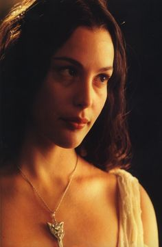 Arwen...have always wanted to do the white dress from the bridge scene