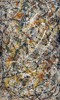 "Jackson Pollock, ""Number 3"", 1949"