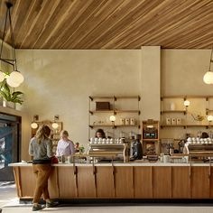 Rich color bathed in natural light give life to an old warehouse, as  Sightglass opens their second San Fran café.