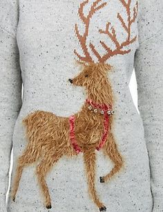 Shop a wonderful collection of women's Christmas jumpers, a selection of the finest festive knits from all over the internet. Womens Christmas Jumper, Christmas Jumpers, Merry Christmas, Reindeer, Knitting, Sweaters, Shopping, Collection, Fashion